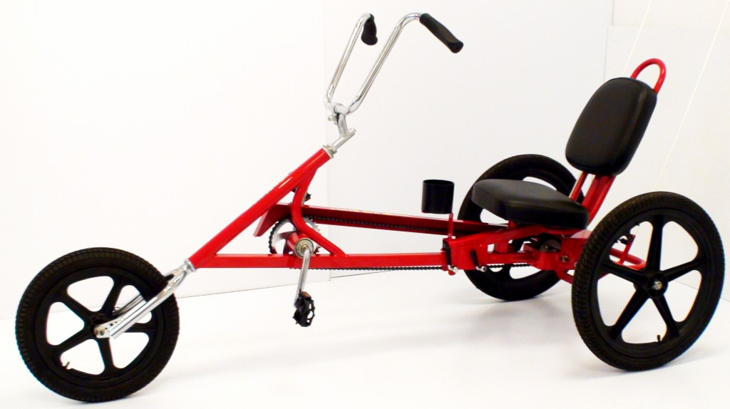 recumbent trike, adult tricycle, rental trike, three wheeler