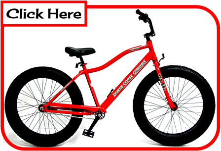 Cruiser Bikes With Big Tires fat tire bicycle sand bike
